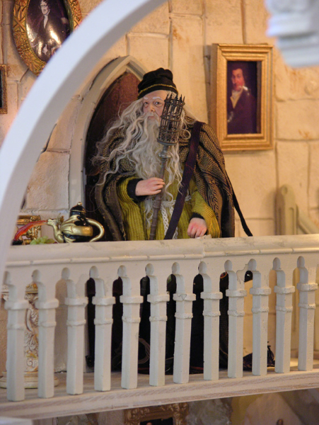 Harry Potter Staircase : The hogwarts stairs in miniature