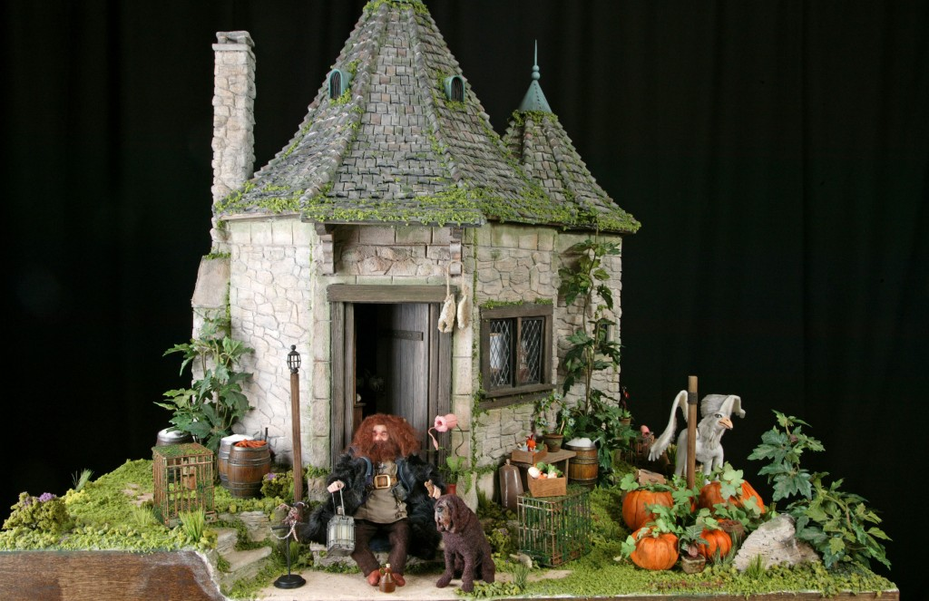 Miniature hagrid 39 s hut What house was hagrid in